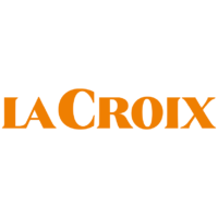 La Croix Logo orange